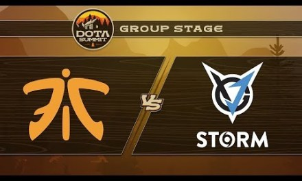 Fnatic vs VGJ.Storm Game 2 – DOTA Summit 9: Group Stage
