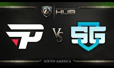 paiN Gaming vs SG e-sports Game 2 – TI8 South America Qualifiers: Grand Finals