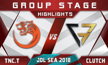 TNC.Tigers vs Clutch Gamers joinDOTA League SEA 2018 Highlights Dota 2