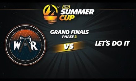 Wind and Rain vs Let's Do It Game 2 – BTS Summer Cup Phase 3: Grand Finals