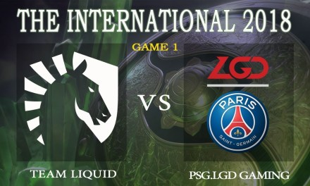 Liquid vs PSG.LGD game 1 – The International 2018, Group A Day 1 – Dota 2