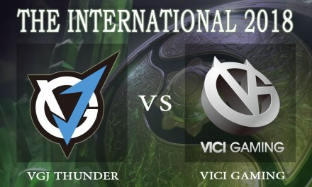VGJ.Thunder vs Vici Gaming BO1 – The International 2018, Lower Bracket Round 1 – Dota 2