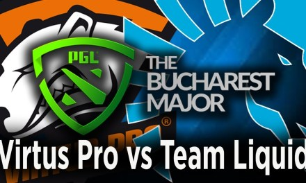 Virtus Pro vs Team LIquid Game 1, PGL Bucharest Major 2018