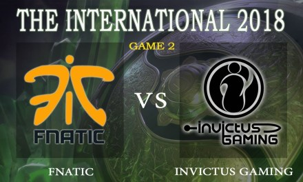 Fnatic vs iG game 2 – The International 2018, Group A Day 2 – Dota 2