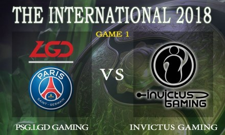 iG vs PSG.LGD game 1 – The International 2018, Group A Day 3 – Dota 2