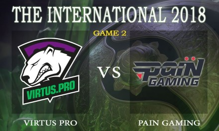 Virtus Pro vs Pain Gaming game 2 – The International 2018, Group B Day 3 – Dota 2