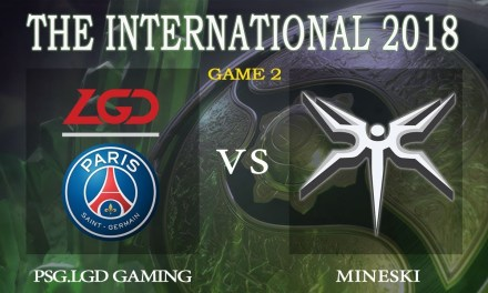 PSG.LGD vs Mineski game 2 – The International 2018, Group A Day 4 – Dota 2