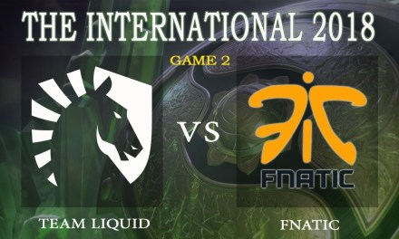 Liquid vs Fnatic game 2 – The International 2018, Group A Day 1 – Dota 2