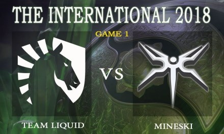 Liquid vs Mineski game 1 – The International 2018, Group A Day 3 – Dota 2