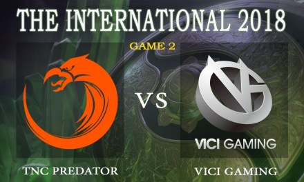 TNC vs Vici Gaming game 2 – The International 2018, Group B Day 1 – Dota 2
