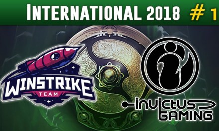 Winstrike vs Invictus Gaming #1 | The International 2018 Group Stage Dota 2