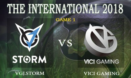 Vici Gaming vs VGJ.Storm game 1 – The International 2018, Group B Day 1 – Dota 2