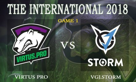 Virtus Pro vs VGJ.Storm game 1 – The International 2018, Group B Day 4 – Dota 2