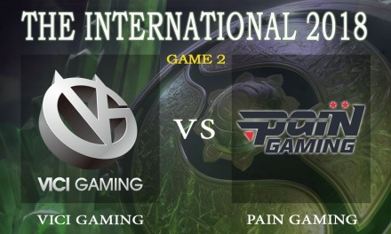 Vici Gaming vs Pain game 2 – The International 2018, Group B Day 3 – Dota 2