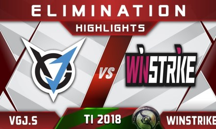 VGJ.Storm vs Winstrike TI8 [TOP 8] The International 2018 Highlights Dota 2