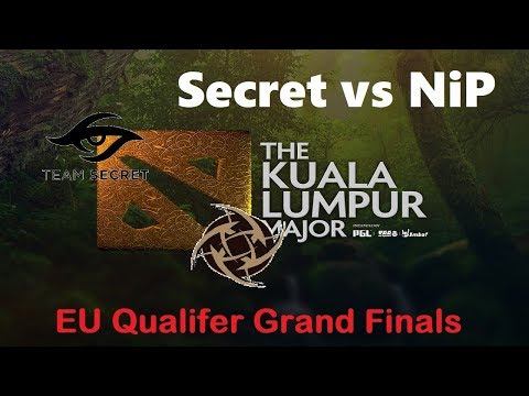 Secret vs NiP | KL Major Europe Qualifier Grand Finals Bo3