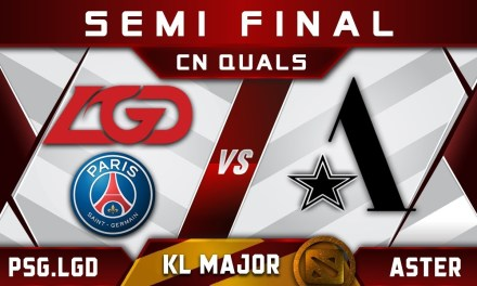PSG.LGD vs Aster – China slot at Kuala Lumpur Major KL Highlights Dota 2