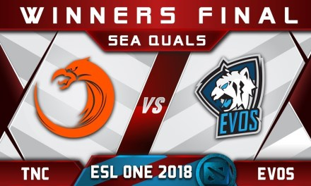 TNC vs EVOS Winners Final SEA ESL One Hamburg 2018 Highlights Dota 2