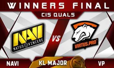VP vs NaVi WB Final B Kuala Lumpur KL Major CIS Highlights Dota 2