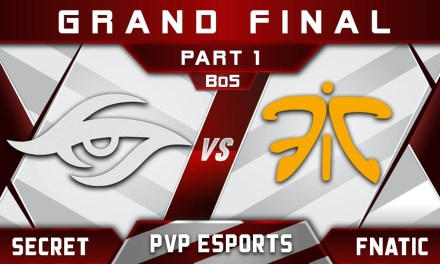 Secret vs Fnatic Grand Final PVP Esports Championship 2018 Highlights Dota 2 – [Part 1]