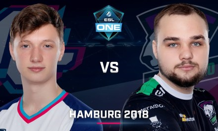 Dota 2 – Forward vs. Virtus.Pro – Group B – Game 1 – Day 1 – ESL One Hamburg 2018