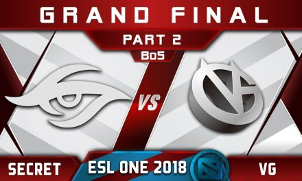 Secret vs VG Grand Final ESL One Hamburg 2018 Highlights Dota 2 – [Part 2]