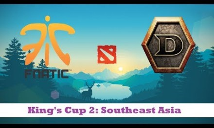 Fnatic vs DTN | King's Cup 2: Southeast Asia Upper Bracket R1 Bo3