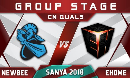 Newbee vs Ehome Sanya New-Stars Play CN 2018 Highlights Dota 2