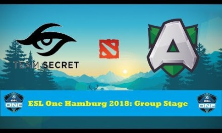 Secret vs Alliance | ESL One Hamburg 2018: Group Stage Day 2 Bo2