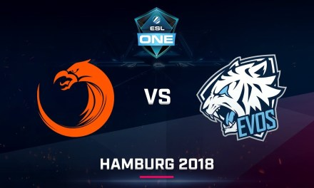 Dota 2 – TNC vs EVOS – Game 1 – Day 2 – ESL One Hamburg SEA Qualifier 2018