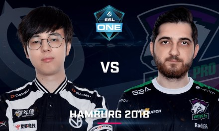 Dota 2 – Vici vs. Virtus.pro – Game 3 – UB Finals – Day 5 – ESL One Hamburg 2018