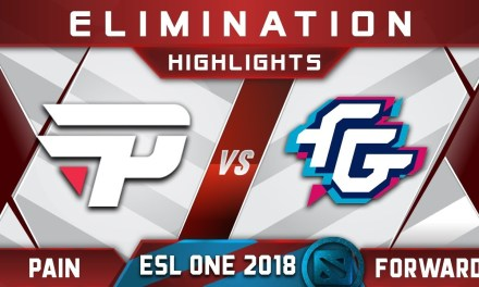 paiN vs Forward Elimination ESL One Hamburg 2018 Highlights Dota 2