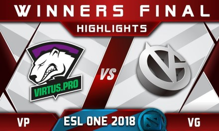 VP vs VG Winners Final ESL One Hamburg 2018 Highlights Dota 2