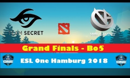 Secret vs VG | ESL One Hamburg 2018 | Grand Finals Bo5