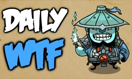 Dota 2 Daily WTF – Fat Bloodstone needs your help!