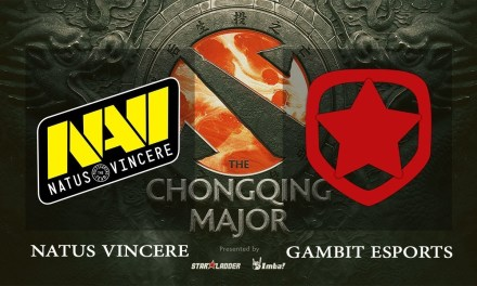NaVi vs Gambit game 1 – The Chongqing Major CIS Qual, Group B – Dota 2