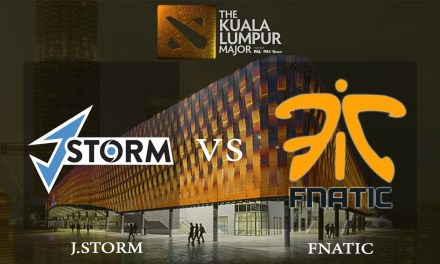 Fnatic vs J.Storm game 3 – The Kuala Lumpur Major, Lower Bracket R2 – Dota 2