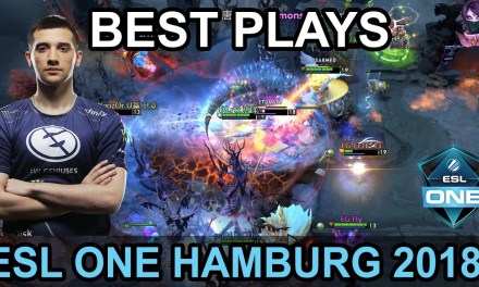 ESL ONE Hamburg 2018 BEST PLAYS Day 1 Highlights Dota 2 by Time 2 Dota #dota2 #eslone