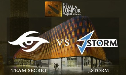 Secret vs J.Storm game 1 – Group A Opening Matches, The Kuala Lumpur Major – Dota 2