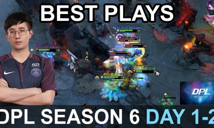 DPL Season 6 BEST PLAYS DAY 1-2 Highlights Dota 2 by Time 2 Dota #dota2 #dpl #dpls6
