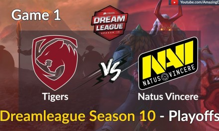 Tigers vs Natus Vincere | GAME 1 | DreamLeague Season 10 | Playoffs | Amazing Dota