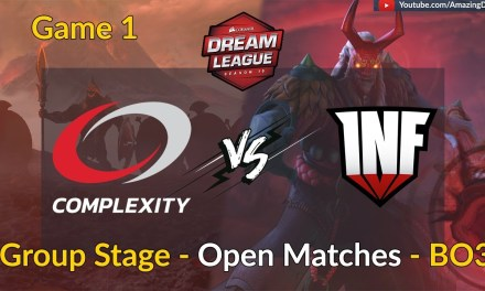 CompLexity vs Infamous | GAME 1 | Group Stage – Open Matches | DreamLeague Season 10