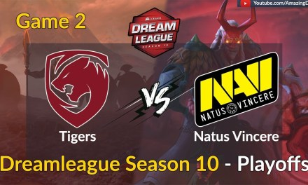 Tigers vs Natus Vincere | GAME 2 | DreamLeague Season 10| Playoffs | Amazing Dota