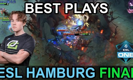 ESL ONE Hamburg 2018 BEST PLAYS GRAND FINAL Highlights Dota 2 by Time 2 Dota #dota2 #eslone