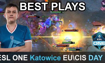 ESL One Katowice 2019 BEST PLAYS Qualifier EUCIS Day 1 Highlights Dota 2 Time 2 Dota #dota2 #eslone