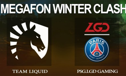 Team Liquid vs PSG.LGD Game 2 – MegaFon Winter Clash, Group Stage – Dota 2