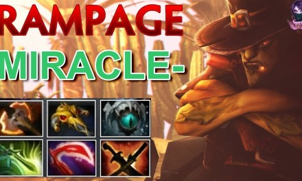 MIRACLE- Bounty Hunter RAMPAGE Highlights by Time 2 Dota #dota2