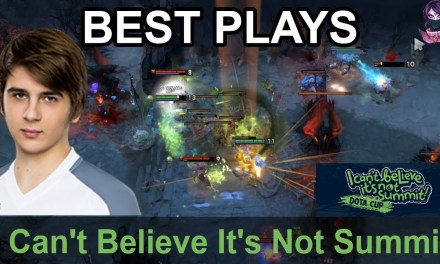 I Can't Believe It's Not Summit BEST PLAYS Day 2 Highlights Dota 2 Time 2 Dota #dota2
