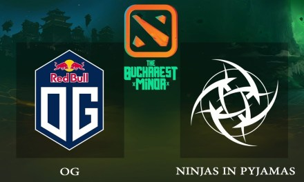 OG vs NiP game 2 – Bucharest Minor EU Qualifier, Winners' Finals – Dota 2