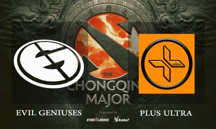 EG vs Plus Ultra game 2 – The Chongqing Major NA Qualifiers, Group A – Dota 2